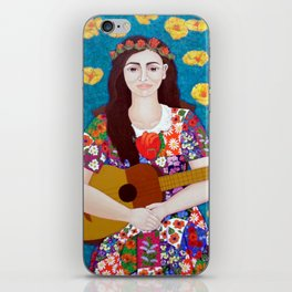 Violeta Parra -The gardener iPhone Skin