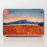 brad pitt iPad Cases featuring Misty Pitt Polder by Jess Hurd
