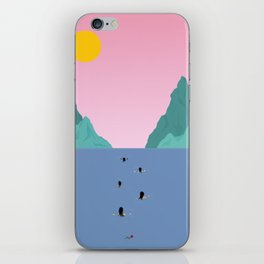 Against The Current iPhone Skin