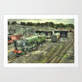 Tornado at Wansford Art Print