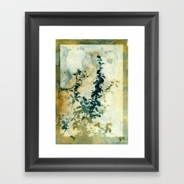 Shadows and Traces Framed Art Print