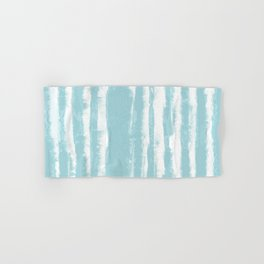 Shibori Stripe Seafoam Hand & Bath Towel