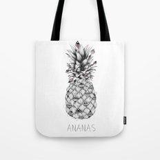 Ananas Pink Tote Bag