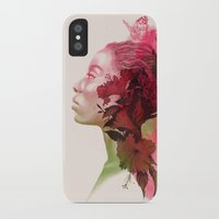 passion iPhone & iPod Cases featuring Passion by Magenda