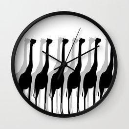 Giraffe's Wall Clock