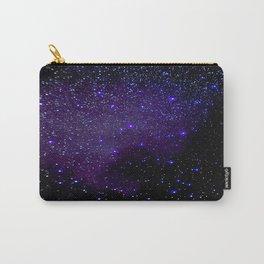 Indigo Purple Stars Carry-All Pouch
