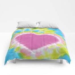 Love Tye Dye 2 Comforters
