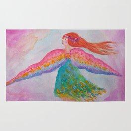 Rainbow Wings Rug