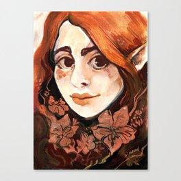 Brambles fairy Canvas Print