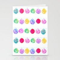 lanterns Stationery Cards featuring Lanterns by Kara Hayley