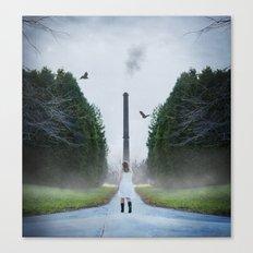 Tree Line Future Canvas Print