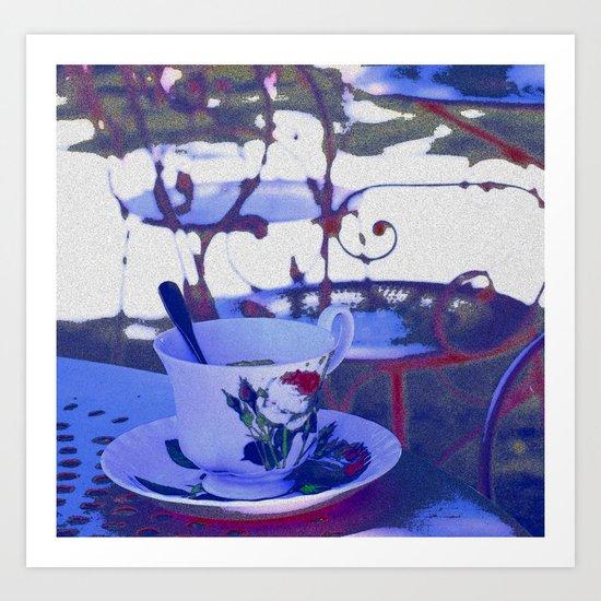 Tea for you Art Print