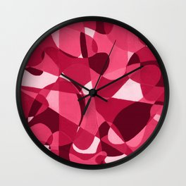 trails and tails Wall Clock