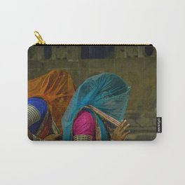 Veiled Ghoomar Dancers Carry-All Pouch