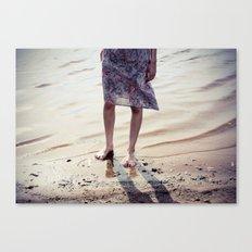 feets Canvas Print