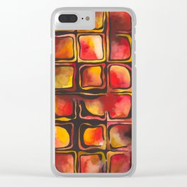 Red Blood Cells in Flow Clear iPhone Case