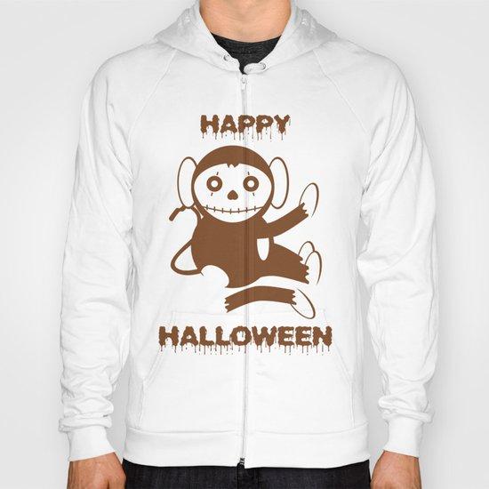 Dead Monkey Happy Halloween Hoody