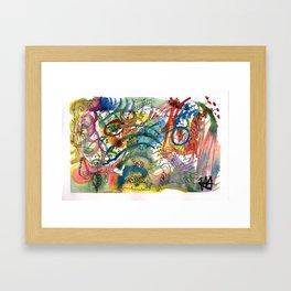 Abstract Watercolour 2016-06-29 Framed Art Print