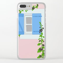 Romantic View Clear iPhone Case
