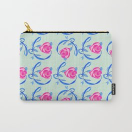 Roses and Vines Carry-All Pouch