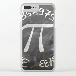 pi Clear iPhone Case