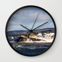 Chateau LaMontagne Wall Clock