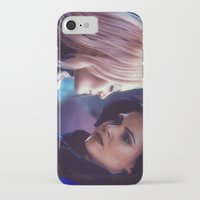 swan queen iPhone & iPod Cases featuring Swan Queen - Keep sailing by Two Swen Idiots