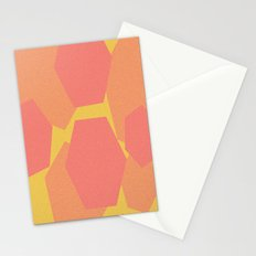 Hexa-Pattern Stationery Cards