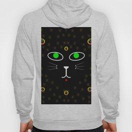 Dark Night with dark cats Hoody