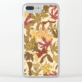 Fall Comes to Mapleville Clear iPhone Case