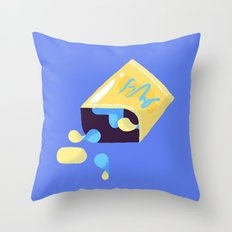 Spilled Chips Throw Pillow