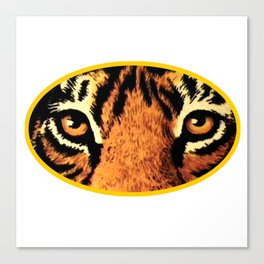 Tiger Eyes jGibney The MUSEUM Society6 Gifts Canvas Print