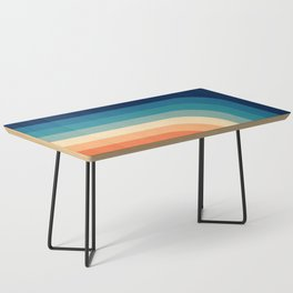 Retro 70s Color Palette III Coffee Table