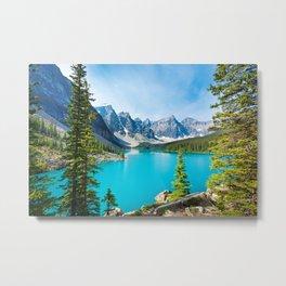 Lake Moraine, Alberta, Canada Metal Print