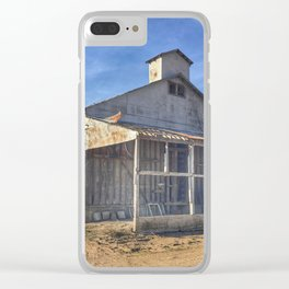 Farm Shed Clear iPhone Case