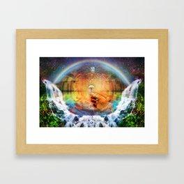 Sacred Mushroom - Hana Rainforest Maui, Hawaii Framed Art Print