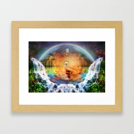Sacred Mushroom - Hana Rainforest Maui, Hawaii Framed Art Print