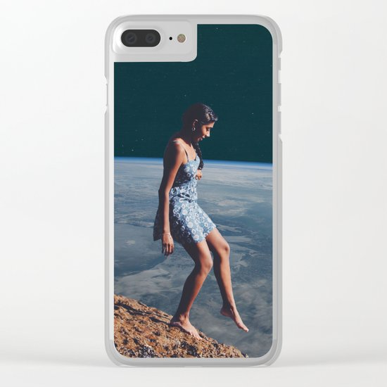 Going to Unknown World Clear iPhone Case