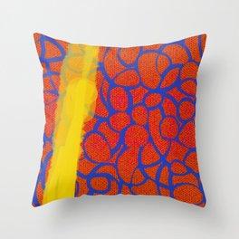 Knitty Gritty Throw Pillow