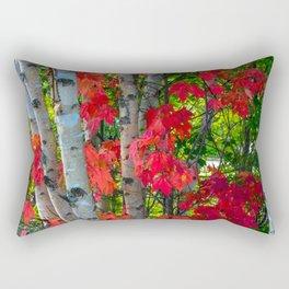 Birch Maple by Teresa Thompson Rectangular Pillow