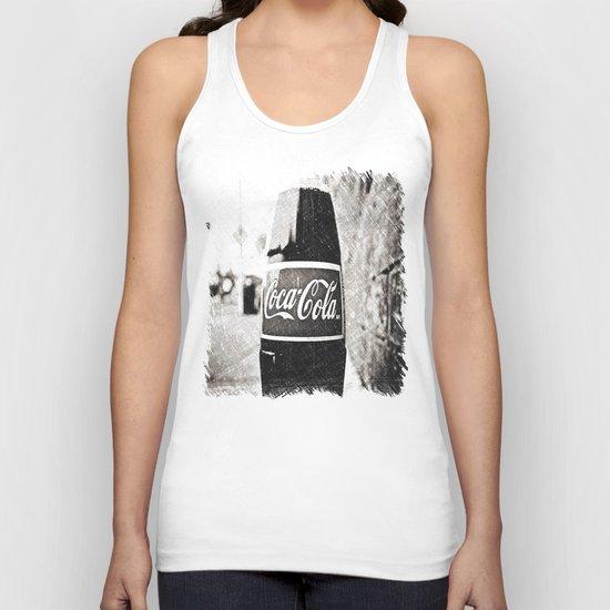 Coca-Cola closer Unisex Tank Top