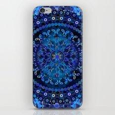 Blue Mosaic Mandala iPhone & iPod Skin