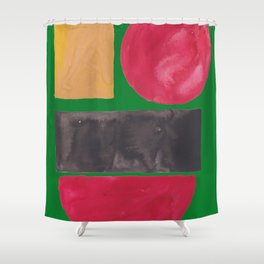 5   | Imperfection | 190325 Abstract Shapes Shower Curtain