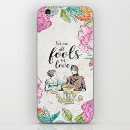 Pride and Prejudice - Fools in Love iPhone Skin