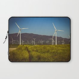 Group of fans in the mountains. Laptop Sleeve