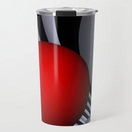 opart tunnel - portrait format -1- Travel Mug