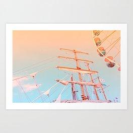 Hanse Sail Rostock Art Print