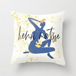 matisse art Throw Pillow
