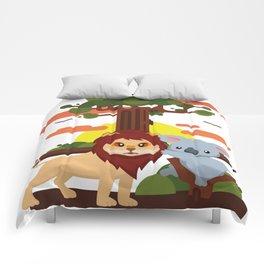 Leo lion & Koalina Comforters