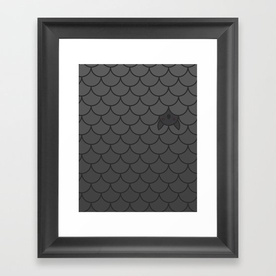 The Last Bat Framed Art Print